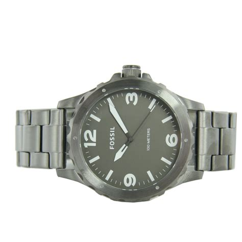 fossil ss fossil s wristwatch stainless steel jr1457
