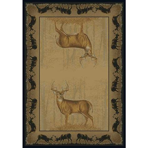 deer bathroom rugs believe deer cabin rug cabin rugs