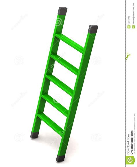 Clipart Vector Of The Carpenter Cartoon Illustration Of green ladder stock photo image 15219720