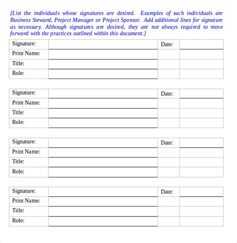 risk management plan template 9 download free documents