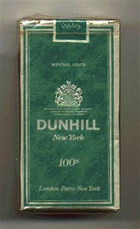 Dunhill International Menthol 20 price of a of cigarettes in cigaretteshop multi