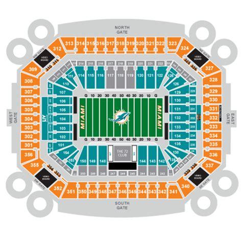 dolphin stadium seats miami dolphins seating chart nfl football stadiums miami