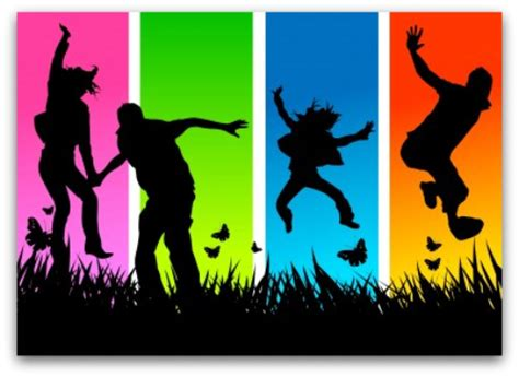 what color is happy happy colors jumping frame