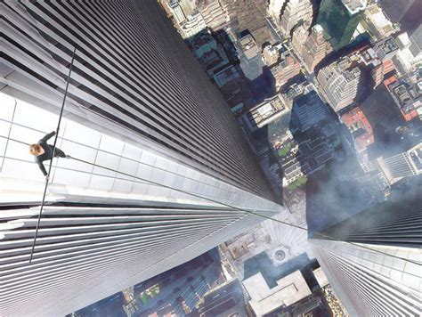 Twin Towers Walk Movie | movie poster for the walk about wtc tight roper puts twin