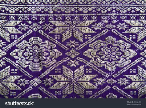 Songket Palembang Multi Colour 8 songket palembang stock photo 34462489