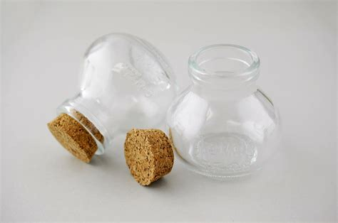 small glass small glass bottles with cork 2 75in pack of 10