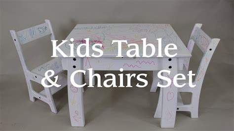 kids table chair set   single sheet  plywood