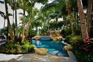 Concept Design For Tropical Garden Ideas 25 Spectacular Tropical Pool Landscaping Ideas