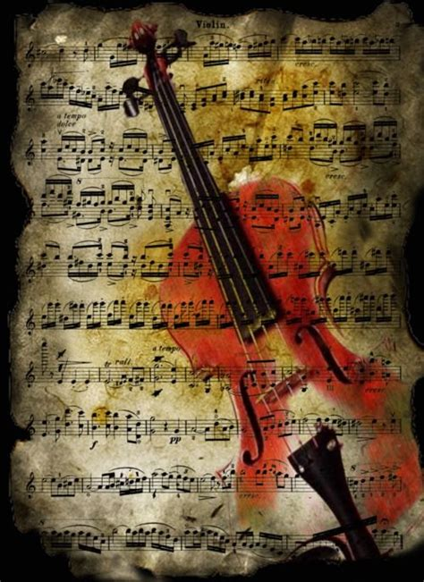 tattooed heart violin love violin awesome background art pinterest sheet