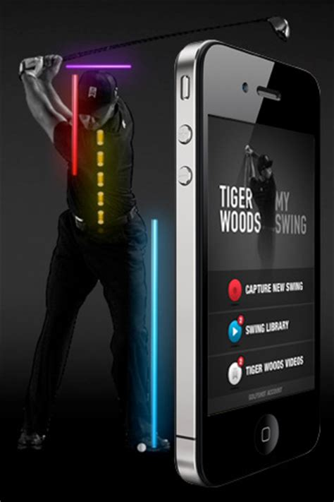 tiger woods my swing app tiger woods quot my swing quot app tee times