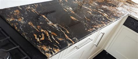 cosmic black granite slabs worktops flooring wall