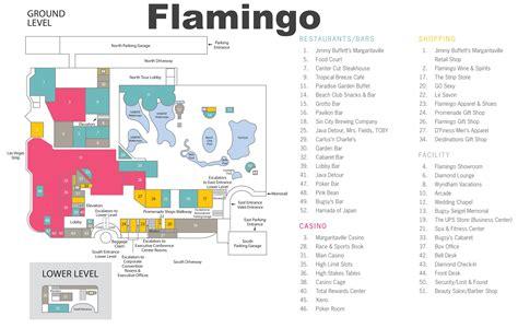 flamingo resort map las vegas flamingo hotel map