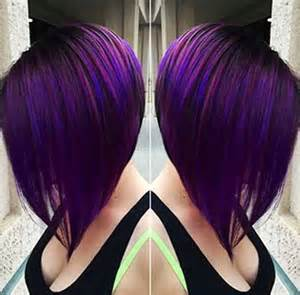 hair styles that are and layerd with purple die in it 15 long bob hair color bob hairstyles 2017 short