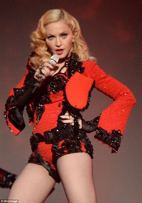 Madonna I Underpants Tonight On The Late Show With David Letterman Mound by Jason Dundas Interviews Madonna For Entertainment Tonight