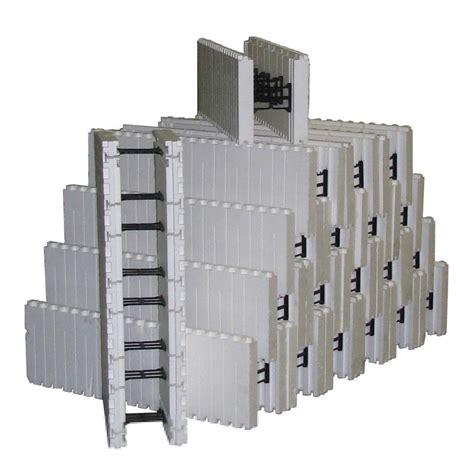 SmartBlock 6 in. Concrete Core 84 lb. 60 in. H x 13.3 ft. L x 10 in. W Insulated Concrete Forms