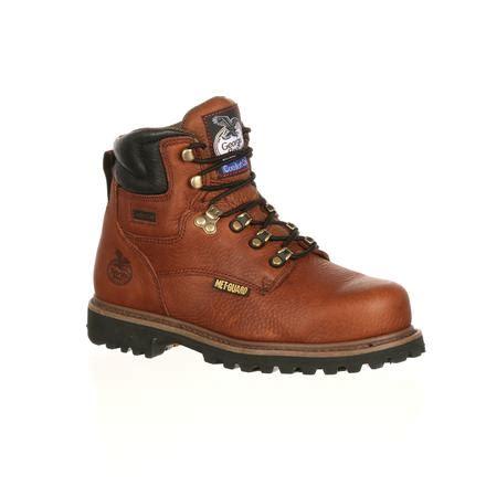 comfortable metatarsal boots georgia internal met guard steel toe work boots g6315
