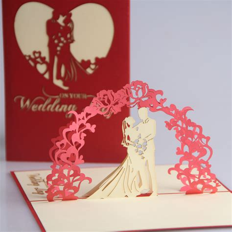 Handmade Wedding Cards For Sale - 2014 special offer sale no greeting decoupage postcards
