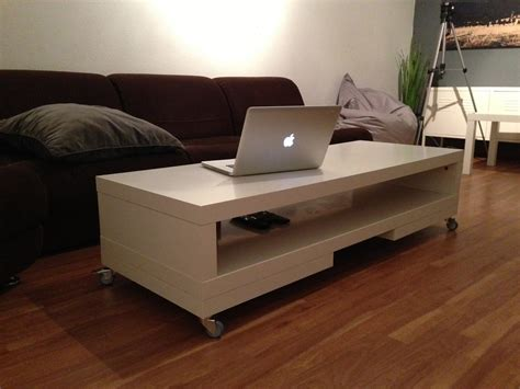 Caster Coffee Table - lack tv unit again coffee table ikea hackers ikea hackers