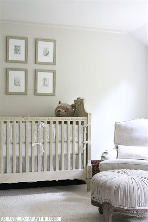 neutral nursery wall colors restoration hardware inspired edgecomb gray from benjamin