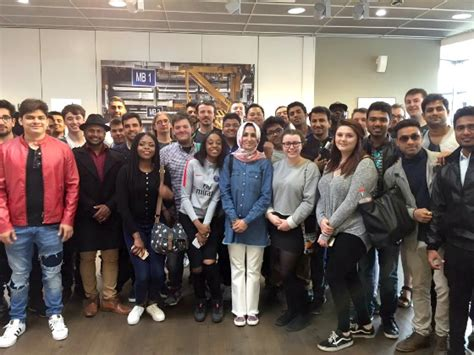 Bmw Motorrad Factory Tour Berlin by Engineering Students Feeling Revved Up After Bmw Visit In