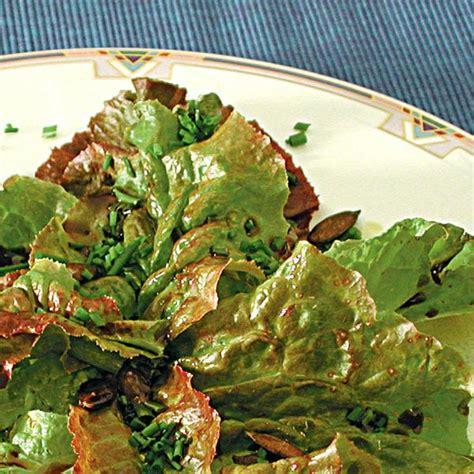therapeutika gr 252 ner salat mit k 252 rbiskernen