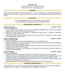 Sample Military Resume Military To Civilian Resume Templates Free Resume Templates