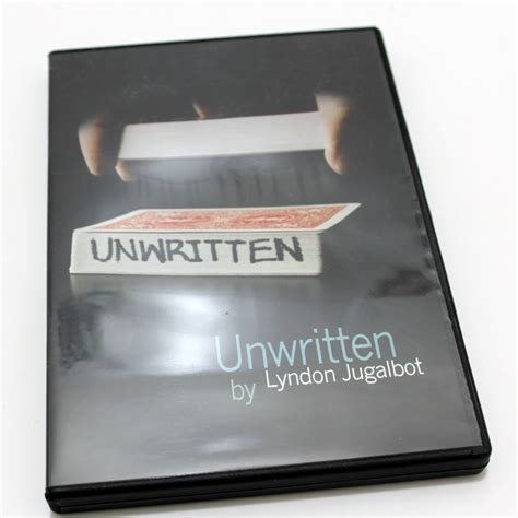 Sulap Unwritten By Lyndon Jugalbot unwritten by lyndon jugalbot martin s magic collection
