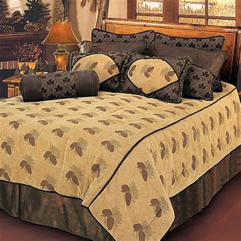 buy pine cone comforter set from bed bath beyond