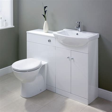ikoma vanity unit basin white 550