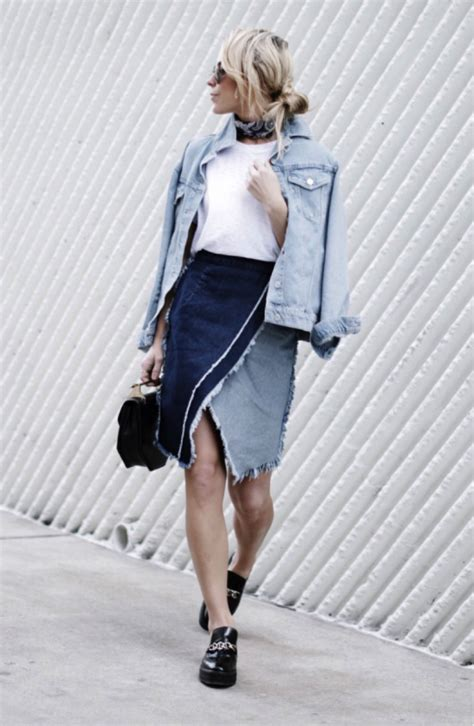 Topshops Take On The Prada Skirt how to nail the frayed edges trend just the design