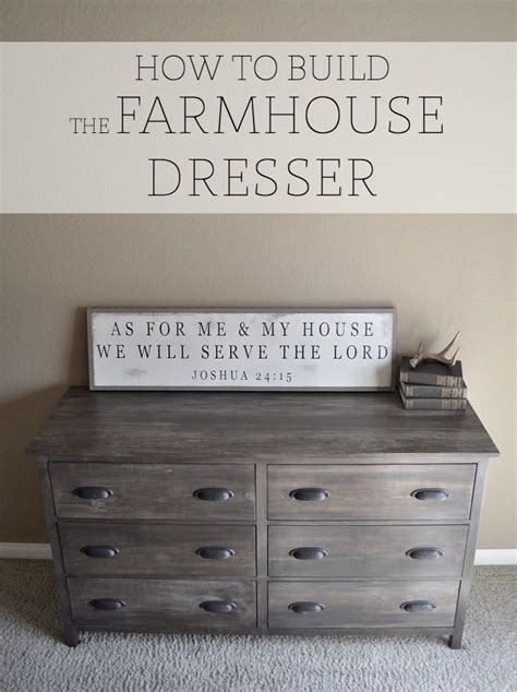 How To Build Dresser by Best 25 Rustic Dresser Ideas On Industrial