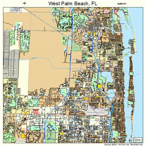 west palm map west palm florida map 1276600