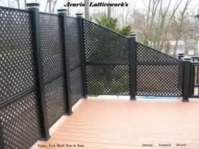 Painting Aluminum Screen Enclosures vinyl lattice panels black lattice panels privacy