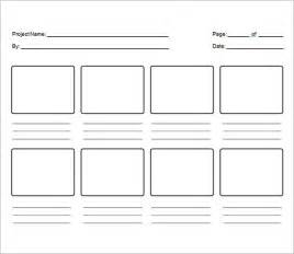 storyboards template sle free storyboard 33 documents in pdf