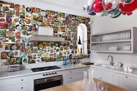 kitchen wallpaper ideas uk white units diy wallpaper modern kitchen ideas