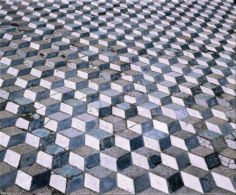 Mosaic Floor L Trompe L Oeil Geometric Floor House Of The Faun Pompeii 1st C Bce Lesson Plan Paper Mosaic