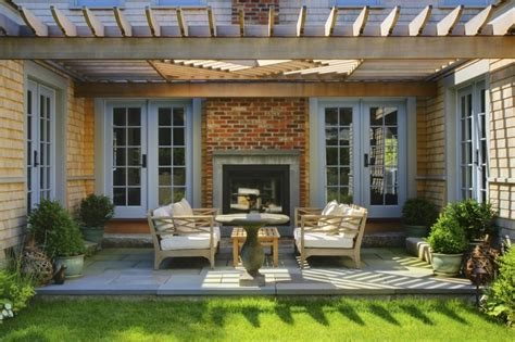 houzz backyard patio sconset residence transitional patio