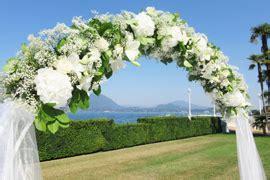 arco fiori matrimonio fiorista matrimonio arona lago maggiore per allestimenti e