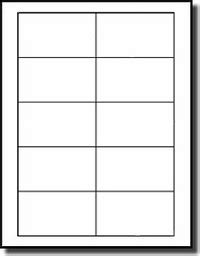 printable labels 2 x 3 200 compulabel 174 311455 compatible business card size