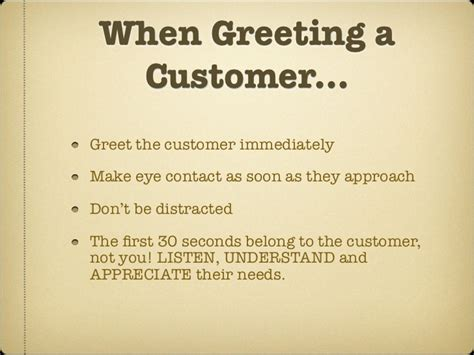 Customer Letter Greetings Customer Service With A Smile