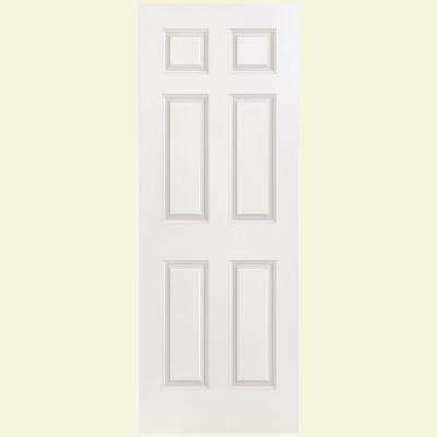 masonite 30 in x 80 in solidoor smooth 2 panel solid 6 panel slab doors interior closet doors the home