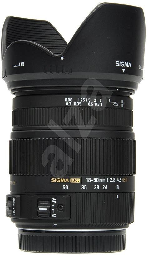 Sigma 18 50mm F 2 8 4 5 Dc Os Hsm sigma 18 50mm f2 8 4 5 dc os hsm pro canon objektiv