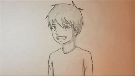 Drawing 3 4 Faces by Sketch Drawing Anime Boy Anime Boy With Bandanamangafox23