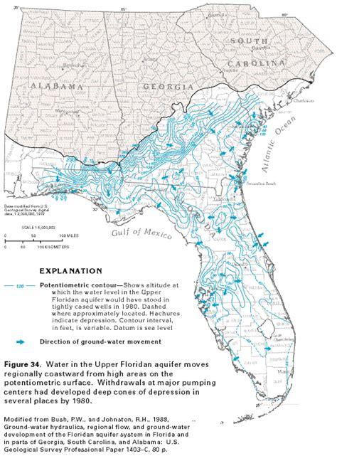 florida aquifer map carbonate rock aquifers carbonate rock aquifers