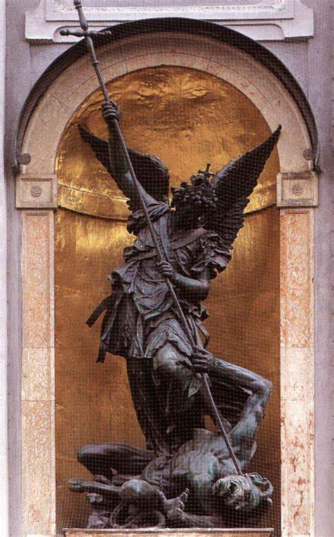st michael archangel michael pinterest awesome st michael slaying the devil by hubert gerhard art more