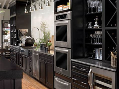 Kitchen Gallery Kitchens By Hastings Black Stained Kitchen Cabinets