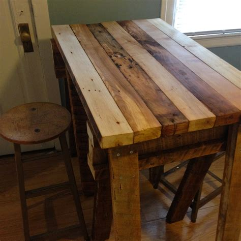 wood kitchen island table best reclaimed wood kitchen table all about house design
