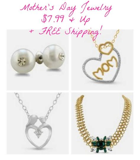 day jewelry sales mother s day jewelry sale free shipping mojosavings