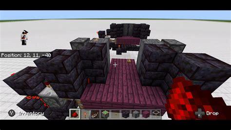hidden redstone door minecraft bedrock full tutorial