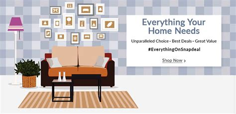 everything your home needs is available on snapdeal